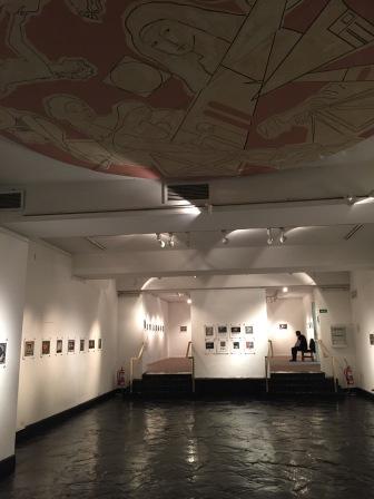Une partie des espaces d'exposition temporaire