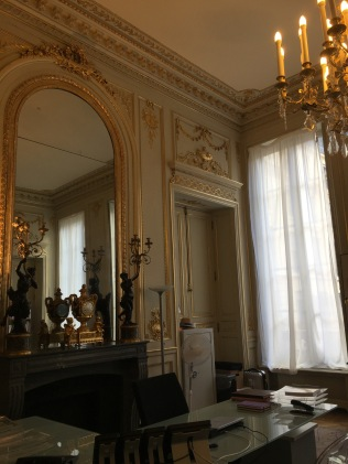 Salon Jules Ferry, bureau du ministre de l'Education nationale
