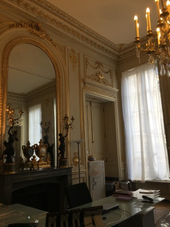 Salon Jules Ferry, bureau du ministre de l'Education nationale