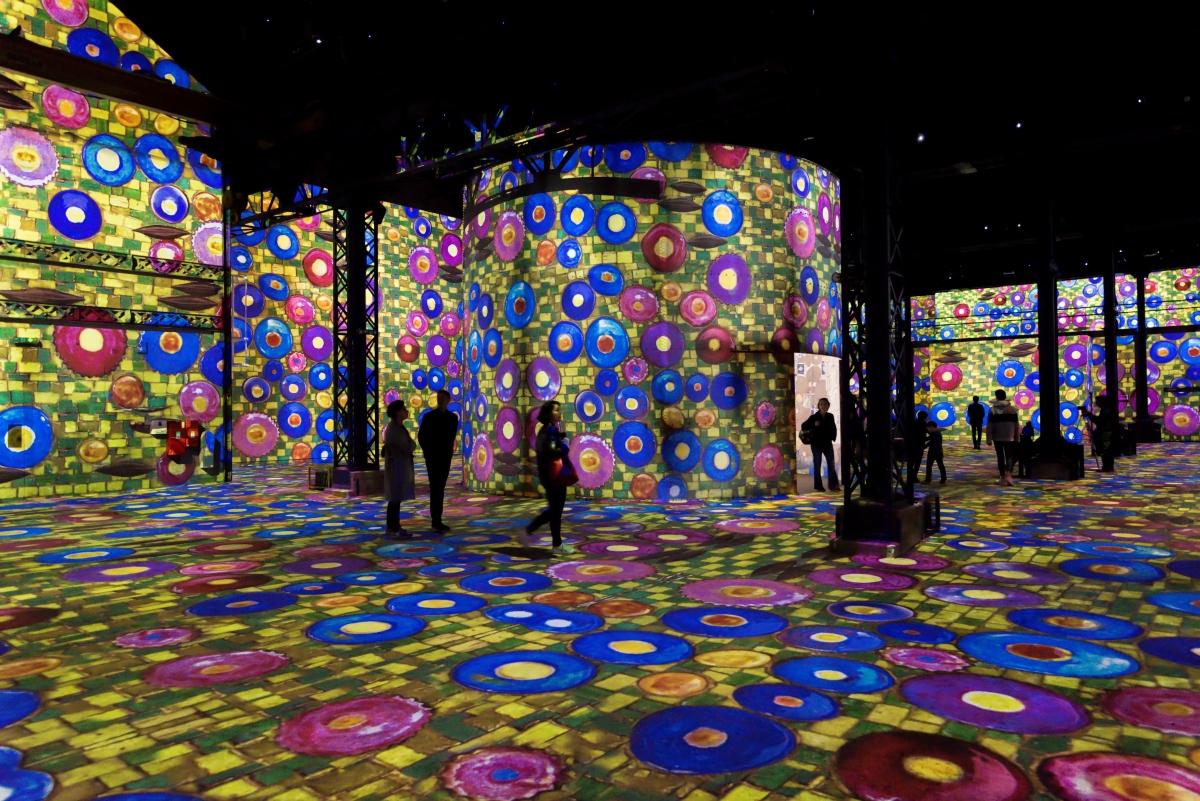 Immersion artistique à l'Atelier des Lumières