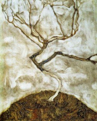 Egon Schiele, Arbre (1911)