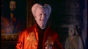 Dracula dans son costume orientalisant