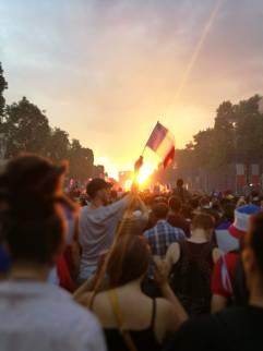 Les manifestations lors de la coupe du monde. Crédits photos : Julien Joanny