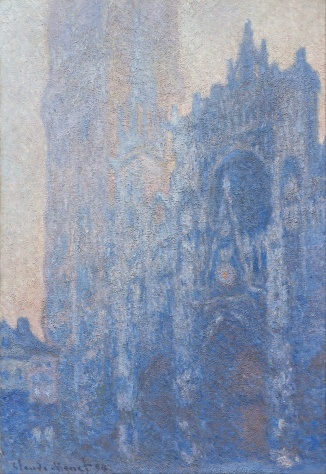 Claude Monet, Cathédrale de Rouen, façade et tour d'Albane, effet de matin (1894)
