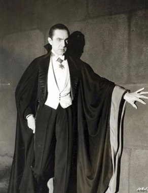 Bela Lugosi en Dracula, photographie anonyme de 1931 ©Universal Studios