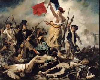 delacroix - liberté guidant le peuple