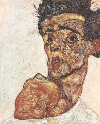 Egon Schiele, Autoportrait