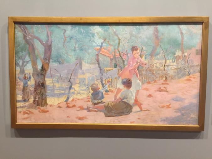 Blanchisseuses en Provence, huile sur toile, 1885-1889, musée des Arts décoratifs, Paris.