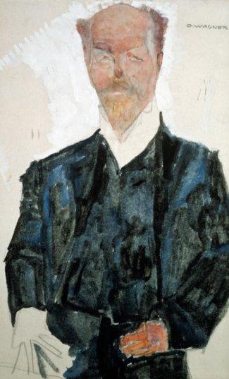 Egon Schiele, Otto Wagner (1910)