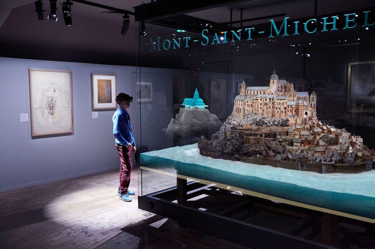 Regards numériques sur le Mont Saint-Michel