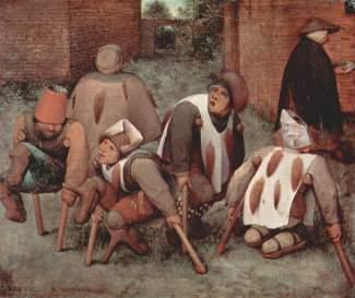 Bruegel, Mendiants (1568)
