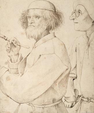 Bruegel, Le Peintre et le collectionneur (c.1566)