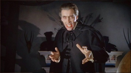 FISHER Terrence, Le cauchemar de Dracula, 1958, Hammer Film Productions avec Christopher Lee