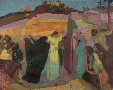 Maurice Denis, La résurrection de Lazare © Beaussant Lefèvre