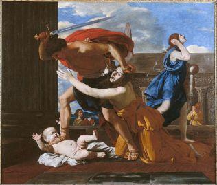 Nicolas Poussin, le Massacre des Innocents, vers 1625-1632, Musée Condé de Chantilly.