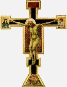 Giotto, Christ en croix, 1290-1300, Eglise Santa Maria Novella, Florence.