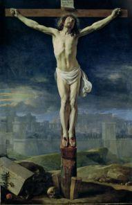 Philippe de Champaigne, Le Christ en Croix, vers 1650, Musée du Louvre.