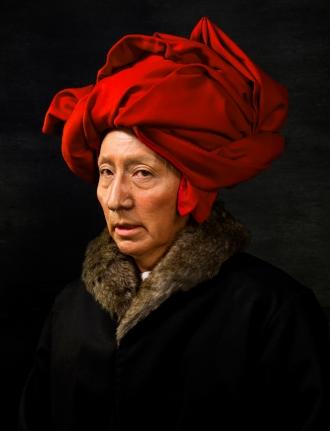 Morimura - Van Eyck