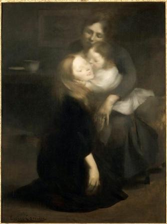 Eugène Carrière - Intimité