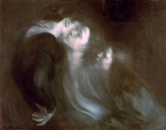 Eugène Carrière, Le Baiser de la mère