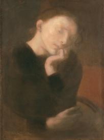 Eugène Carrière - Méditation
