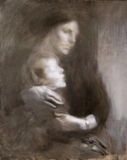 Eugène Carrière - Maternité 2