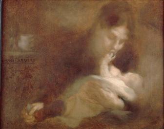 Eugène Carrière, Maternité