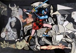 Equipo Cronica, Guernica, L'intrusion