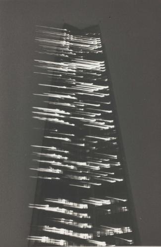 Teo Hernández, Etude de composition pour Trois gouttes de mezcal dans une coupe de champagne (1983), Fonds Teo Hernández, Centre Pompidou/MNAM/CCI - Bibliothèque Kandinsky