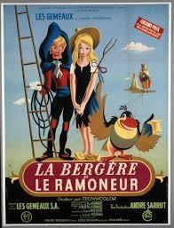 Affiche de la Bergère et du Ramoneur
