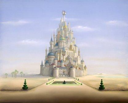 Le château du royaume de Takicardie dans Le Roi et l'Oiseau de Paul Grimault