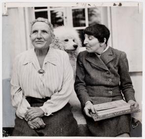 Gertrude Stein et Alice Toklas