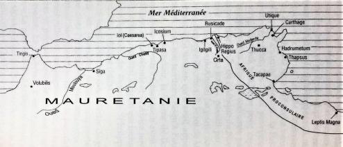 Carte du royaume de Maurétanie