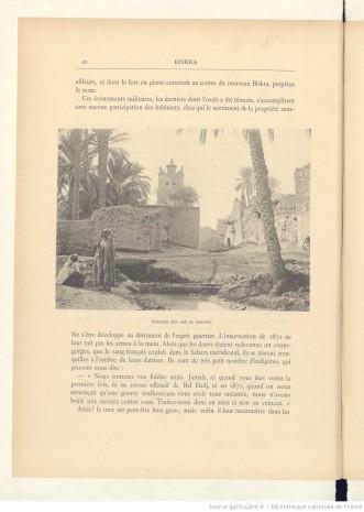 Algérie artistique et pittoresque, 1874, crédits : Gallica