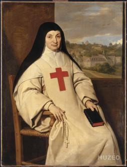 Philippe de Champaigne, Portrait de Mère Angélique