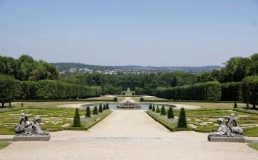 Le parc du domaine de Champs-sur-Marne