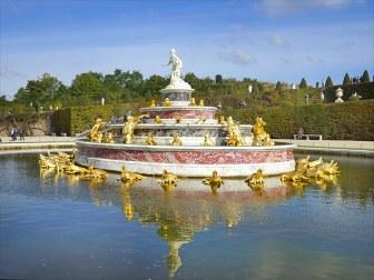 Bassin de Latone, crédits : Wikipédia commons
