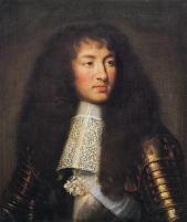 Charles Lebrun, Portrait de Louis XIV, vers 1661 1662, huile sur toile, conservé au château de Versailles (MV 5930)