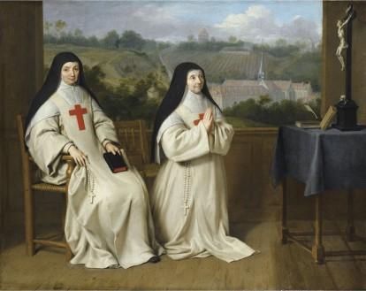 Philippe et Jean-Baptiste de Champaigne, Portrait de Mère Angélique et Mère Agnès Arnauld