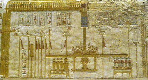 relief séthi reliquaire