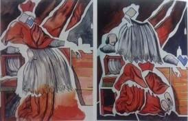 Henri Cueco, le Cardinal Richelieu, 1996-97