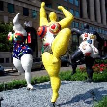 Niki de Saint-Phalle, 1999, National Museum of Women in the Arts, Washington DC