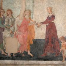 Vénus et les Trois Grâces, 1483-1485, Andrea Botticelli, musée du Louvre, Paris