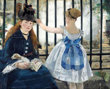 Edouard Manet, Le chemin de fer, 1872-1873, conservé au musée d'Orsay