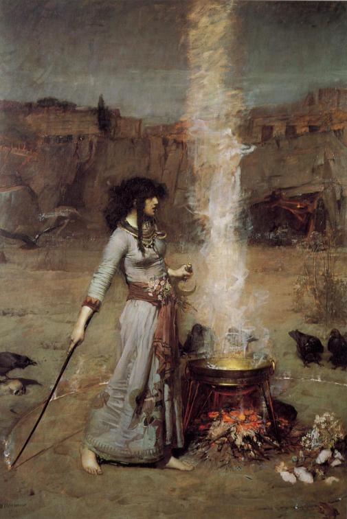 the magic circle waterhouse