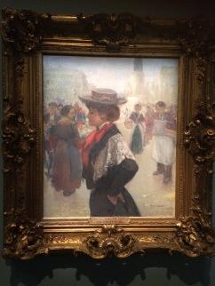 Jules Adler, Le Trottin