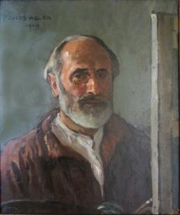Jules Adler, Autoportrait, 1929