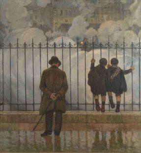 Jules Adler, Les Fumées, 1924