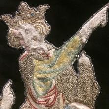 Détail de l'antependium de Château-Thierry, crédits : Célia Bellache