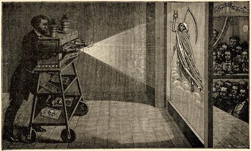spectacle de fantasmagorie